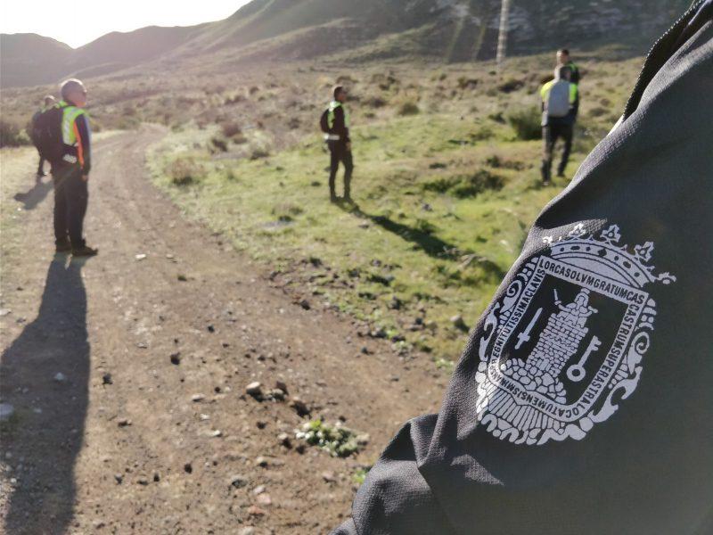 Agentes de la Policía Local de Lorca se unen a la búsqueda del niño almeriense Gabriel Cruz en Níjar
