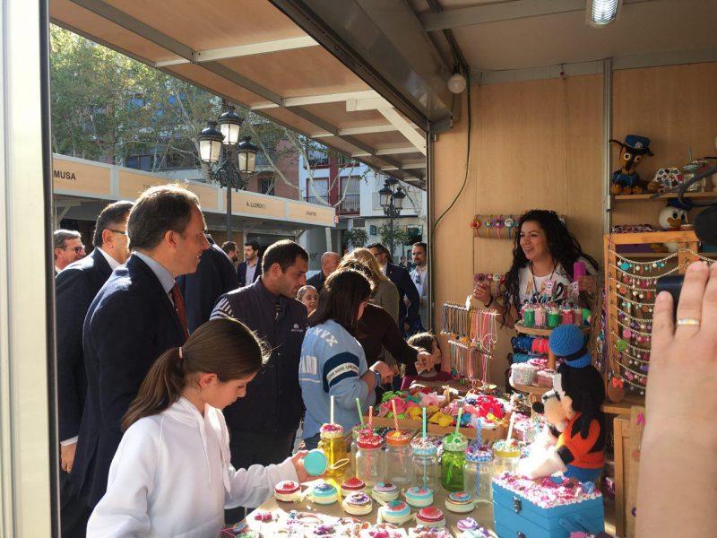 Abre sus puertas la XXVII edición del Mercado de Artesanía en Semana Santa