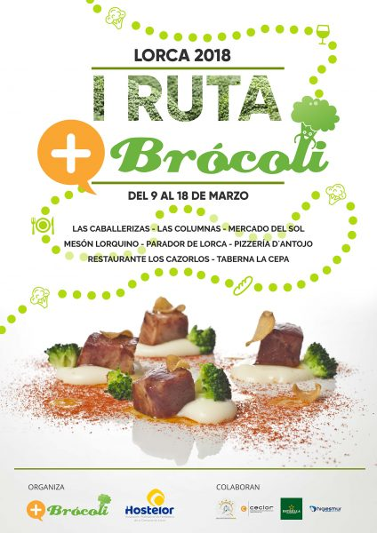 Lorca celebra, durante esta semana, la I Ruta Gastronómica con sabor a brócoli