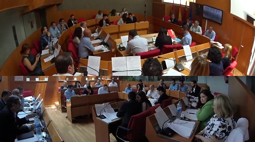 """IU acusa al PP de """"incumplir"""" los acuerdos alcanzados por unanimidad en el Pleno"""