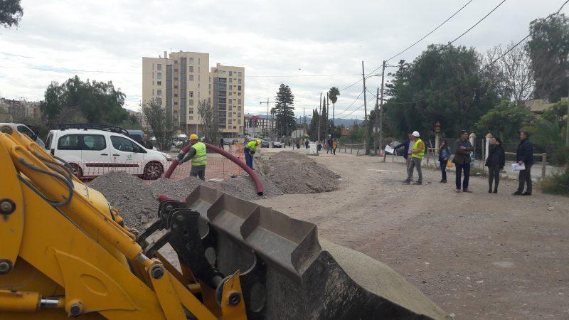 Las obras del Camino Marín mejorarán la seguridad peatonal y su conexión con la Alameda de Cervantes