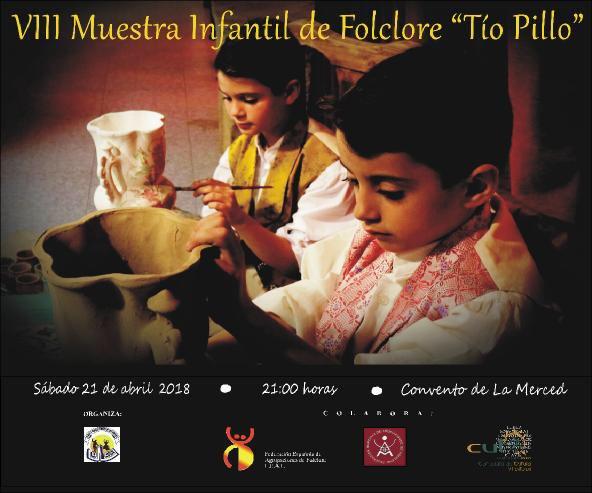 """Coros y Danzas Virgen de las Huertas celebra este sábado su VIII Muestra Infantil de Folclore """"Tío Pillo"""""""