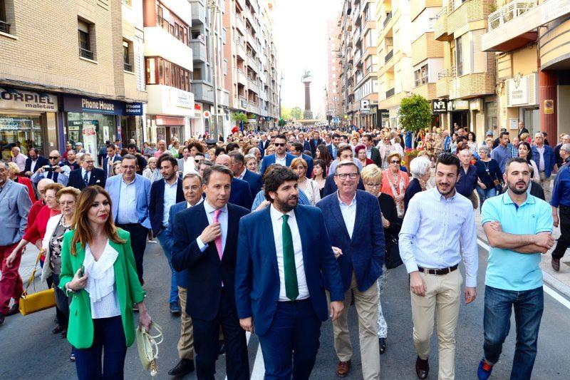 Puesta de largo tras la renovación integral de la avenida Juan Carlos I