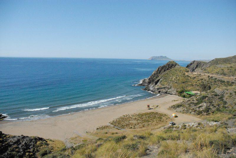 Controlarán la entrada de vehículos al interior del Parque Regional de Calnegre y Cabo Cope