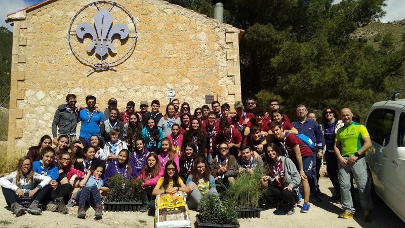 El Grupo Scout 'Ciudad del Sol' presentará en Madrid su proyecto 'Apadrina los Ojos del Río Luchena'