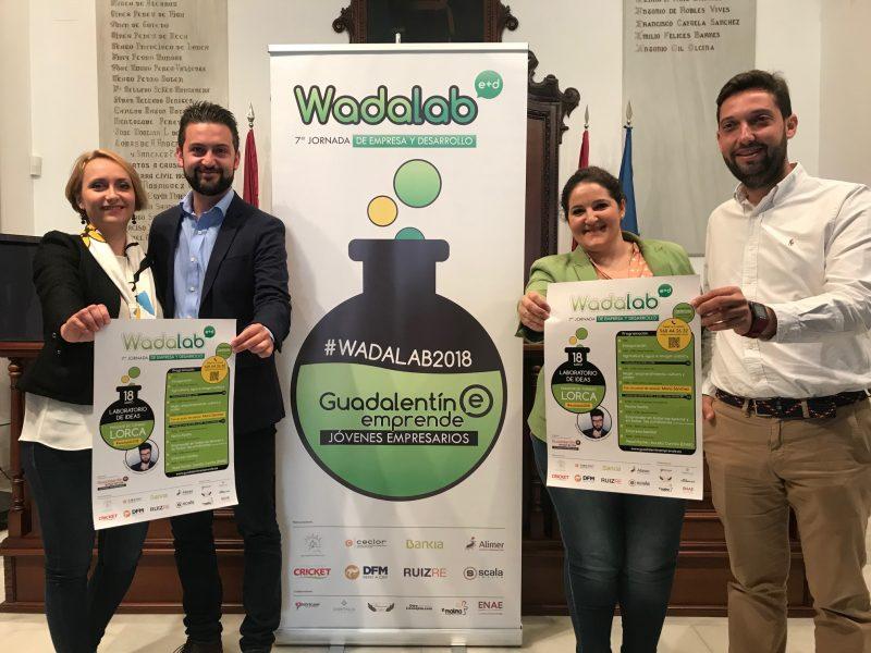 """""""Wadalab"""" 2018 reunirá en Lorca a 30 ponentes del mundo de la empresa, la política y la universidad"""