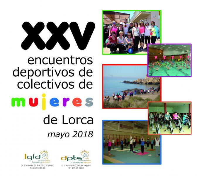 """Hasta el 1 de junio se celebran los XXV """"Encuentros Deportivos de Colectivos de Mujeres de Lorca"""""""