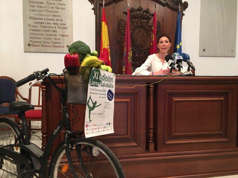La Alameda de la Constitución acoge del 10 al 12 de mayo la 'XI Feria Lorca Saludable'