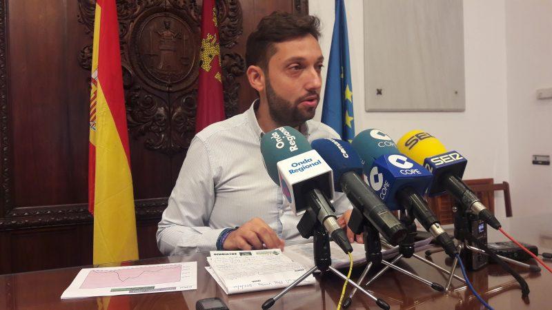 Lorca reduce su deuda municipal más de 4 millones en los últimos 6 meses