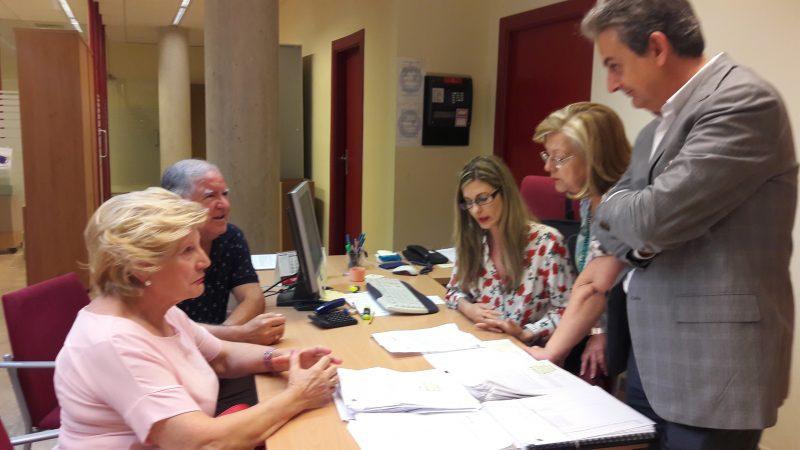 La Oficina de Atención a los Afectados por los seísmos realizará otras 100 visitas de oficio en los próximos días