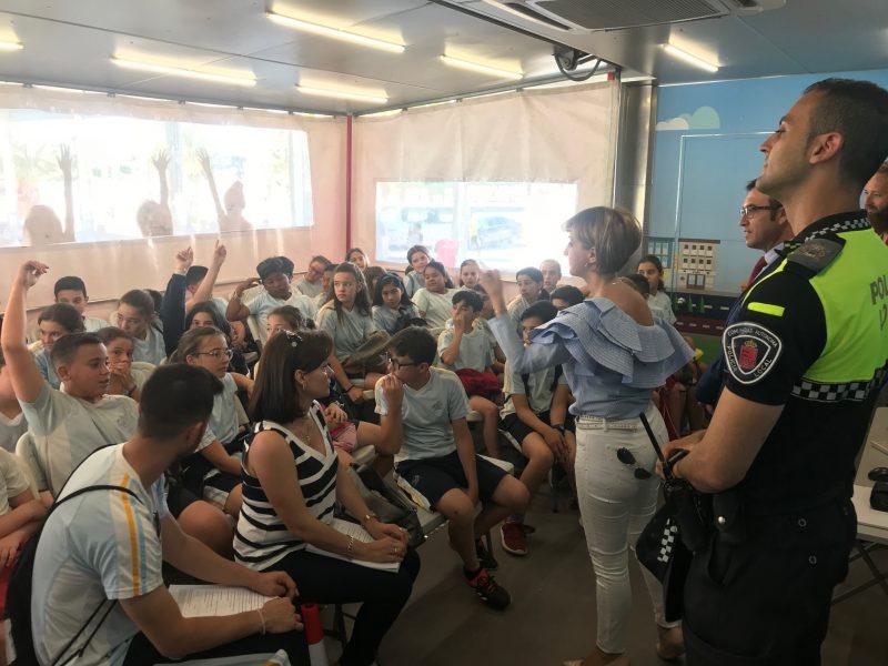 Casi 1.000 estudiantes lorquinos se formarán esta semana en tráfico y prevención de accidentes