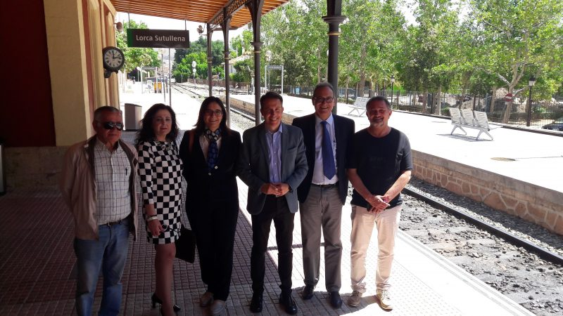 Lorca apuesta por recuperar la línea de ferrocarril con Granada, clausurada en 1984