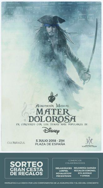 La Plaza de España acoge este jueves el Concierto de Verano de la Agrupación Musical Mater Dolorosa