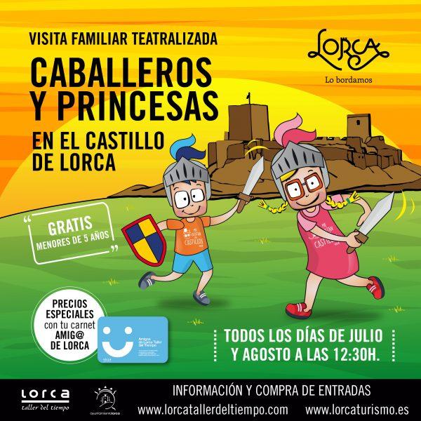 """El Castillo ofrece, un año más, las visitas familiares de """"Caballeros y Princesas"""""""
