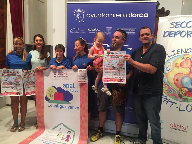La VII Peñarrubia Lorca Trail se celebrará el 16 de septiembre dentro de los XL Juegos Deportivos del Guadalentín