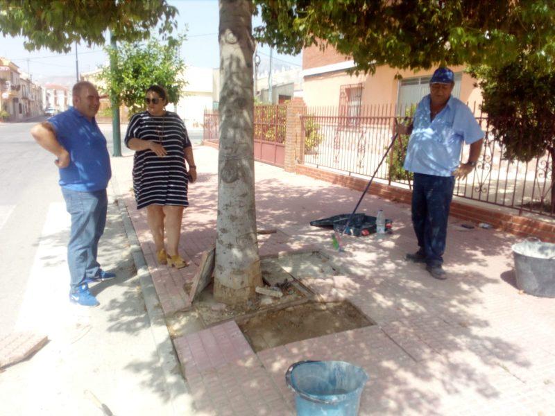 La Brigada de Intervención Rápida realiza distintas obras de mejora en La Parroquia