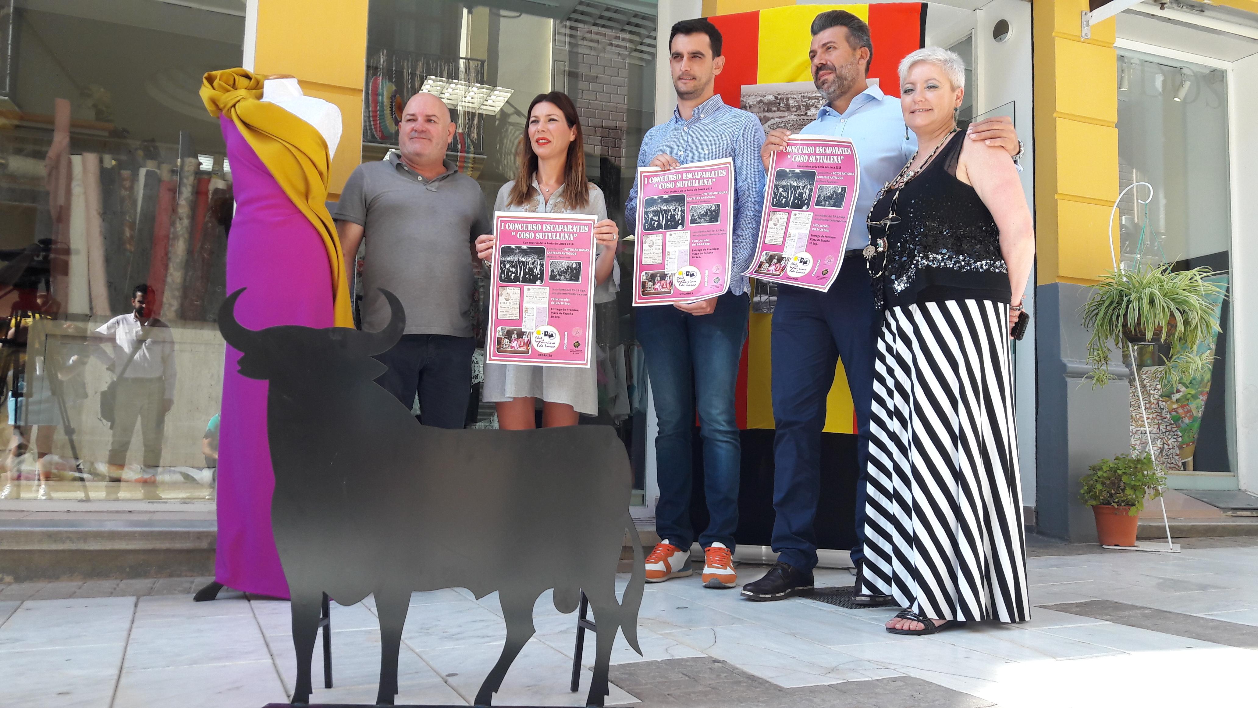 """El I Concurso de Escaparates """"Coso de Sutullena"""" quiere embellecer las zonas comerciales durante la Feria"""