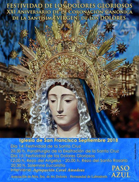 El Paso Azul celebra, este sábado, la festividad de los Dolores Gloriosos