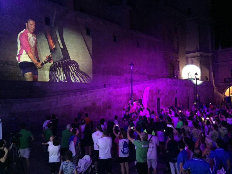 Casi 2.000 personas participan en la inauguración de los 40º Juegos Deportivos del Guadalentín