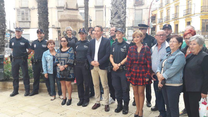 La Policía Local mantendrá las patrullas a pie de forma permanente en San Cristóbal