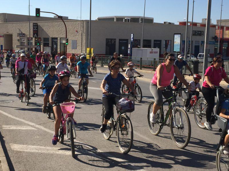 Más de 1.500 ciclistas clausuran los Juegos Deportivos del Guadalentín en la Jornada Ciclista Popular