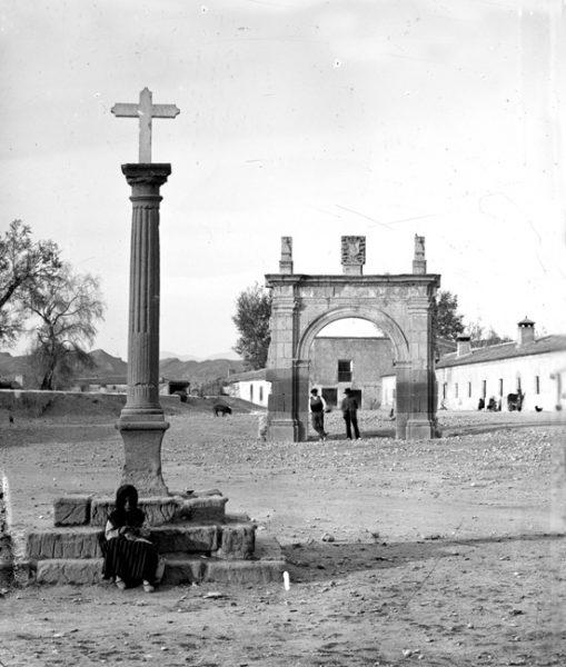 Alumnos del Curso de Conservación del Patrimonio Cultural restaurarán la Cruz de Humilladero del Santuario Patronal