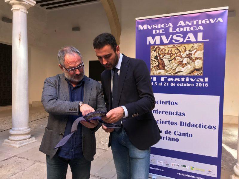 Sonarán melodías históricas en los monumentos de Lorca gracias al VI Festival de Música Antigua