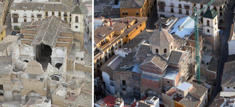 El arquitecto Juan de Dios de la Hoz premiado por la reconstrucción del Patrimonio tras los terremotos