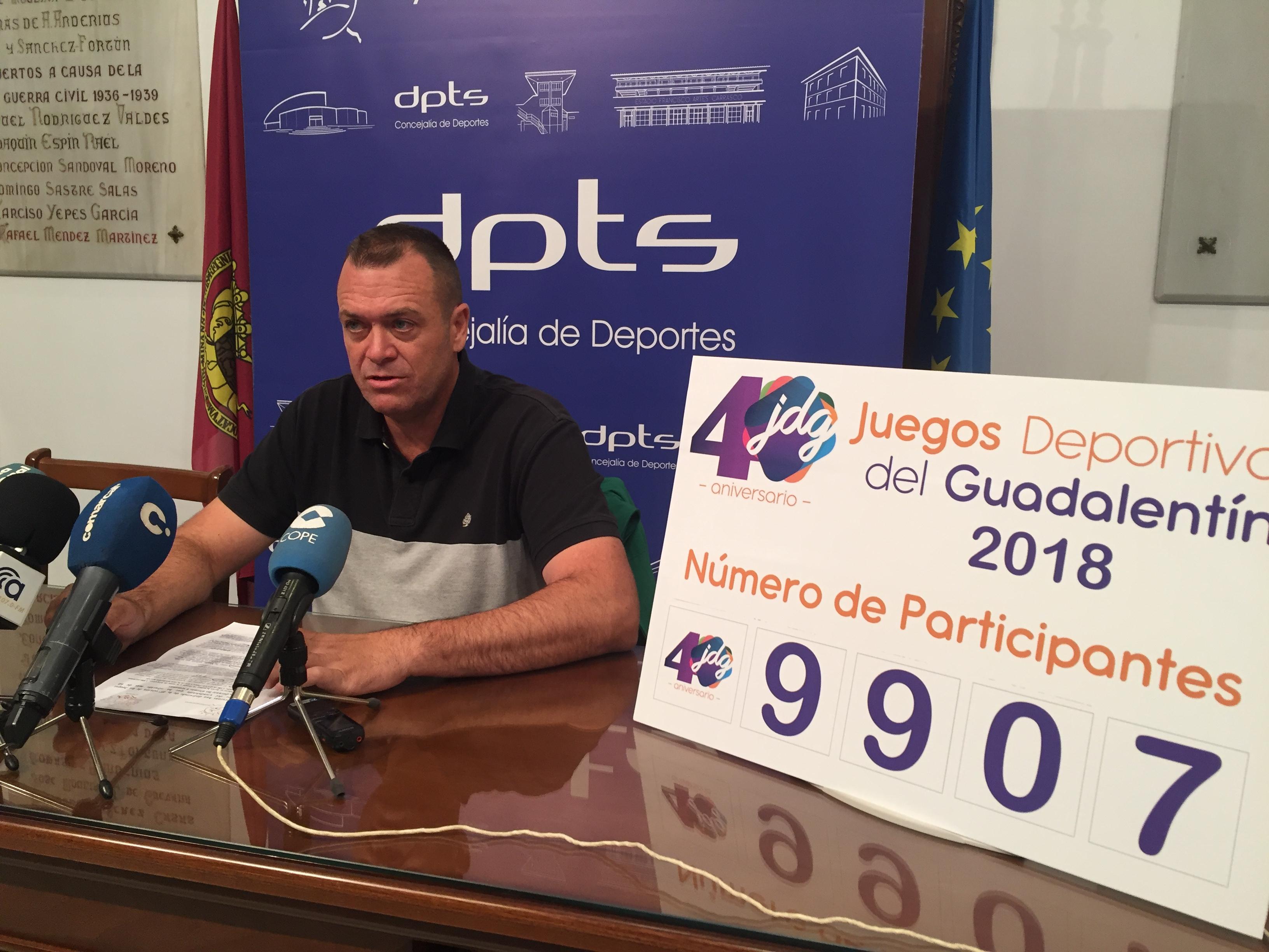 Casi 10.000 personas han participado en la 40ª edición de los Juegos Deportivos del Guadalentín
