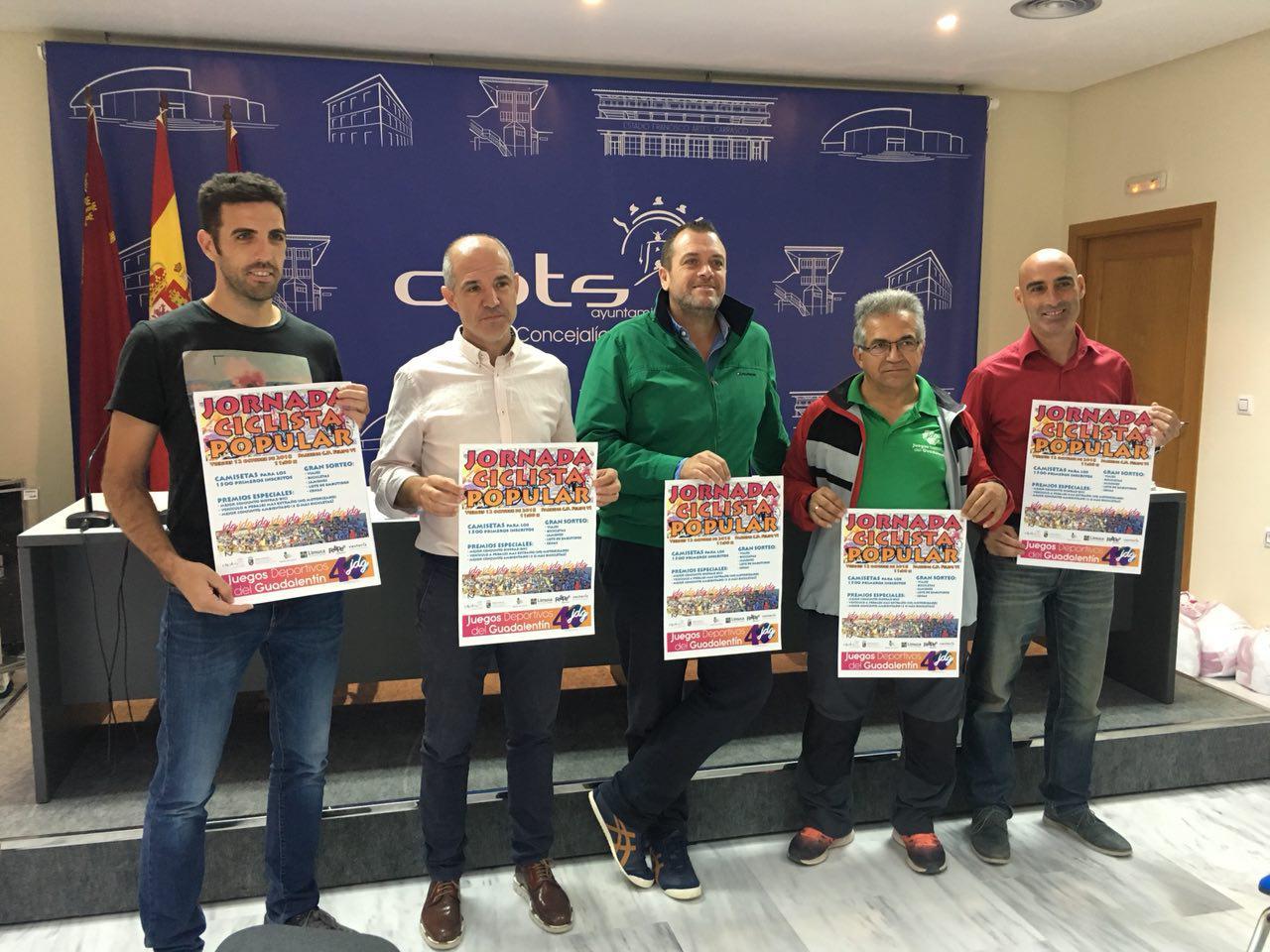 Este viernes se clausurarán los 40º Juegos Deportivos del Guadalentín con el Ciclopaseo
