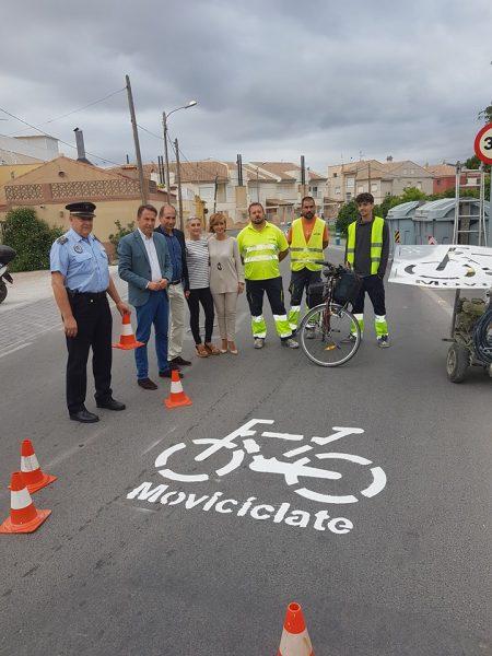 """Señalizarán varias vías como ciclocalles para priorizar """"los desplazamientos a pie y en bicicleta"""""""