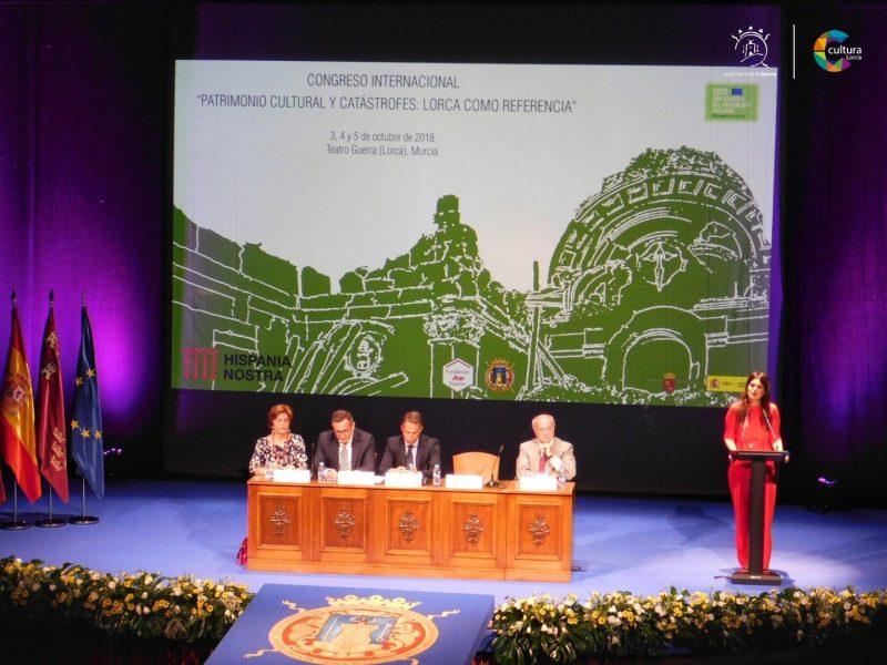 Lorca, ejemplo de recuperación patrimonial en la celebración de un congreso internacional