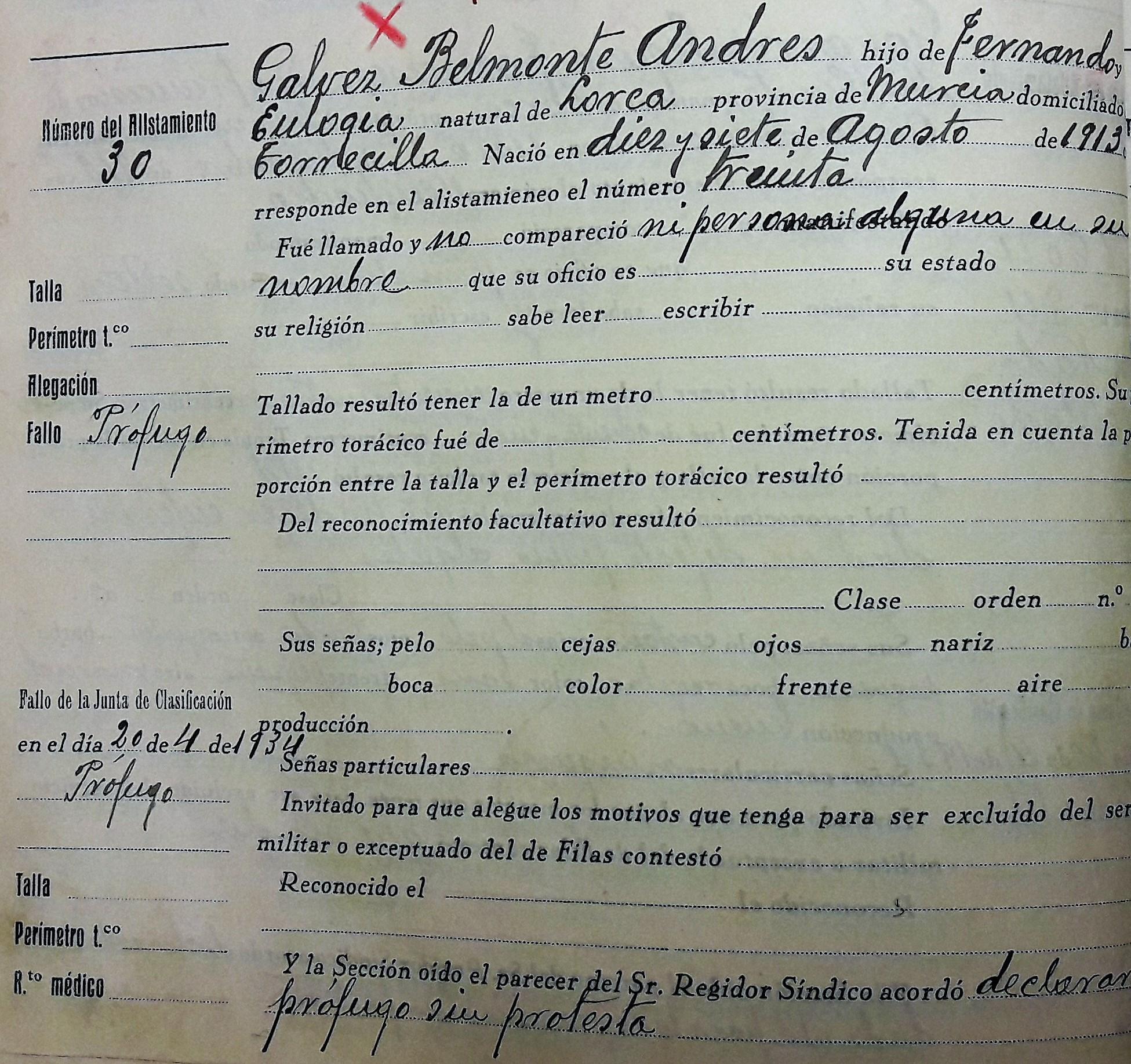 Identifican a un lorquino víctima del campo de concentración nazi de Neuengamme