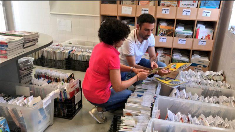Más de 3.000 familias se han beneficiado este año del Banco Municipal de Intercambio de Libros de Texto