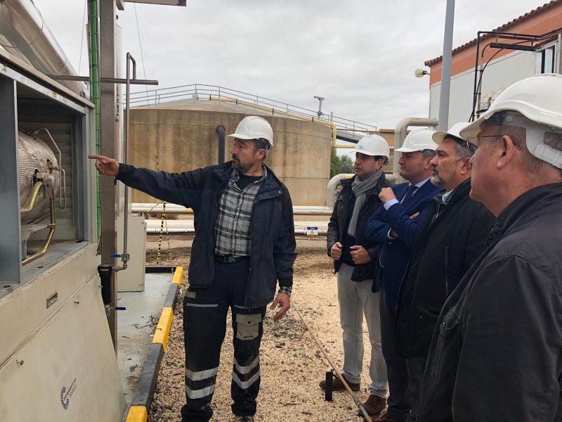 La depuradora de agua de Lorca, pionera regional por su autosuficiencia energética