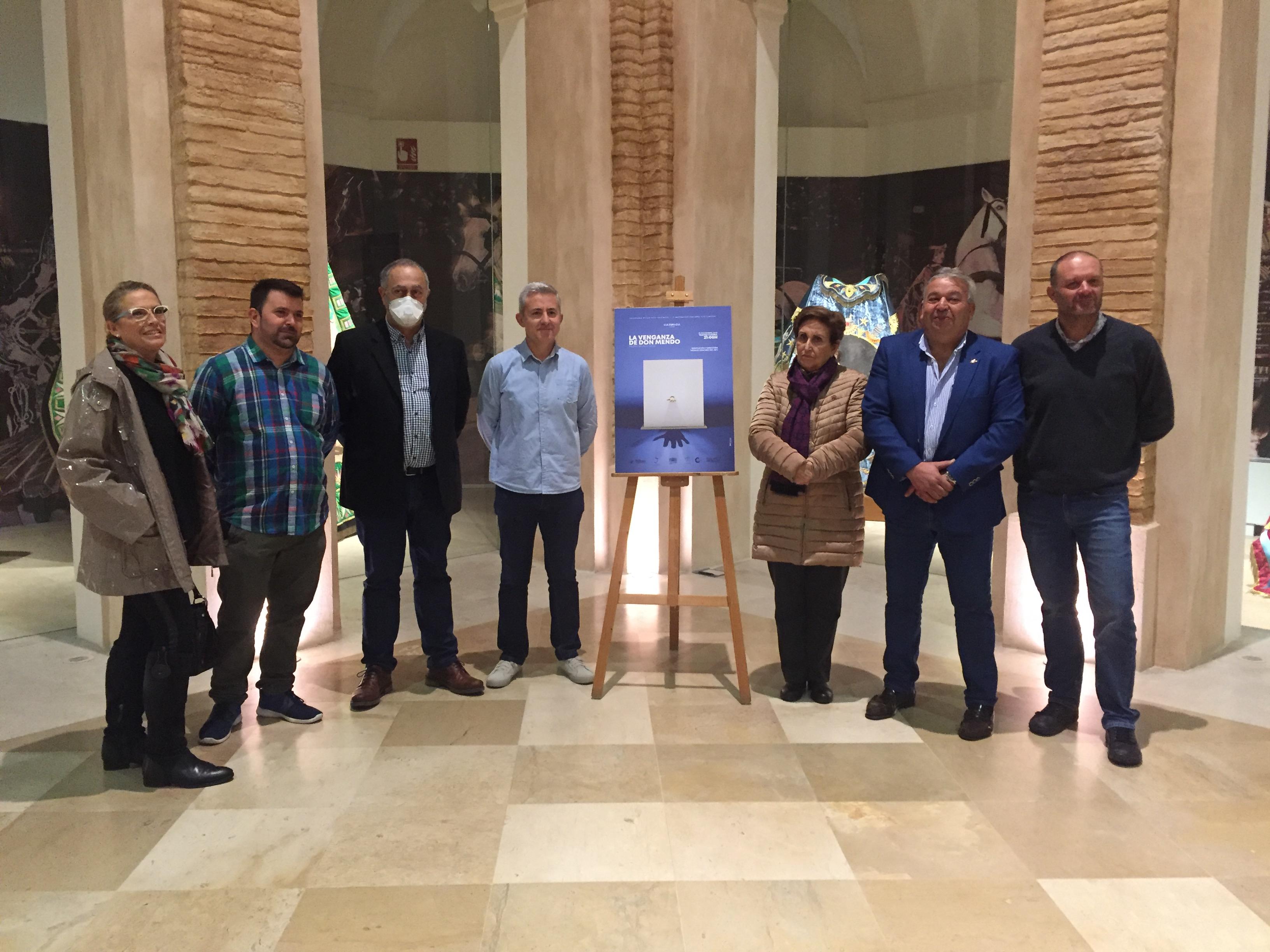 El Grupo de Teatro Las Caretas celebra su 10º cumpleaños con 'La venganza de Don Mendo'