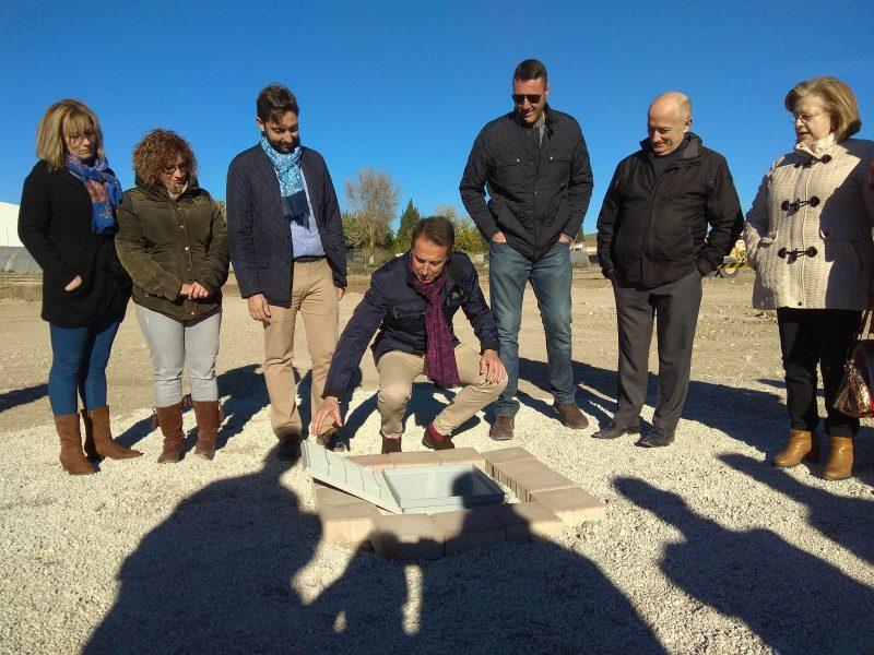 Comienzan los trabajos para la construcción de la nueva base logística de Limusa