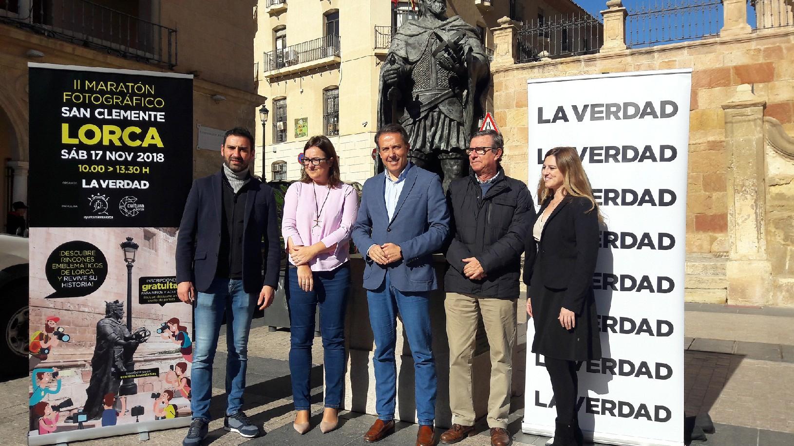 El sábado, 17 de noviembre, se celebrará el II Maratón Fotográfico »Lorca-San Clemente»