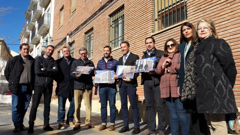 Invertirán 4,5 millones de euros para la construcción de un nuevo edificio en la antigua comisaria
