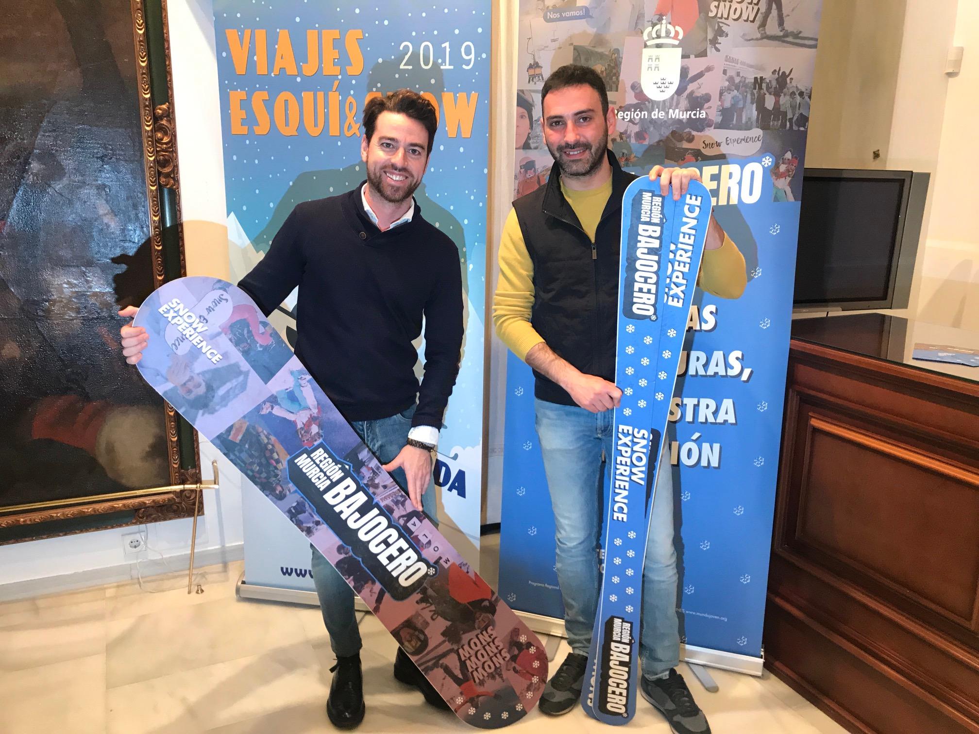 Diversos programas permitirán a los jóvenes lorquinos disfrutar de viajes a la nieve