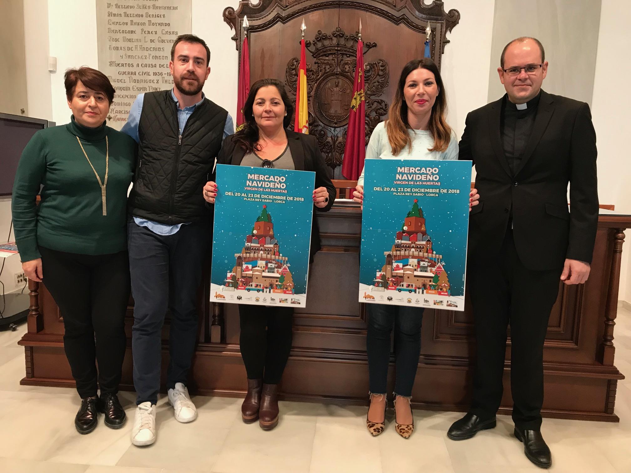 La Plaza del Rey Sabio acoge del 20 al 23 de diciembre un Mercado Navideño en el que participan 40 puestos