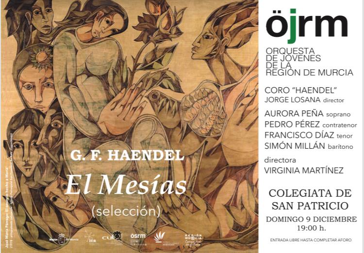 La Orquesta de Jóvenes de la Región interpretará hoy un concierto de El Mesías en San Patricio