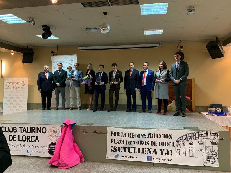 El Club Taurino entrega sus tradicionales distinciones de la temporada