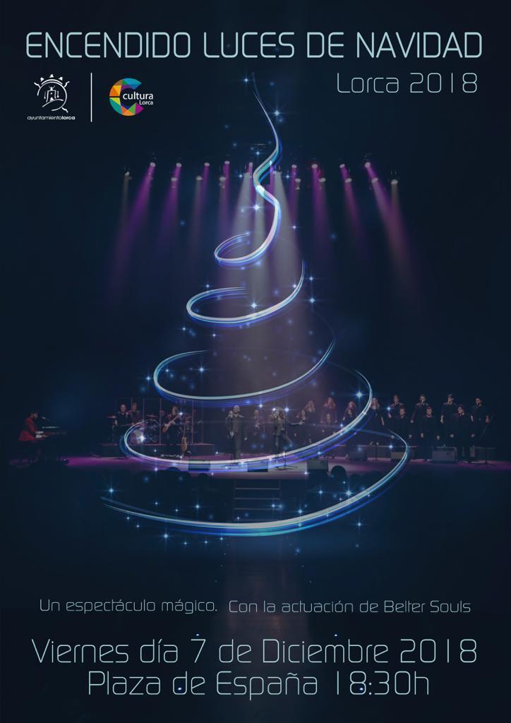 La Navidad será recibida este viernes con un espectáculo musical en la Plaza de España