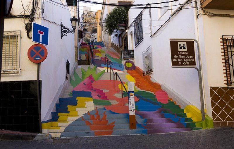 El PSOE propone «embellecer la ciudad» con un proyecto de arte urbano