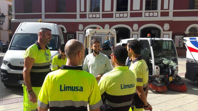 Limusa renovará su flota con cuatro nuevas unidades recolectoras