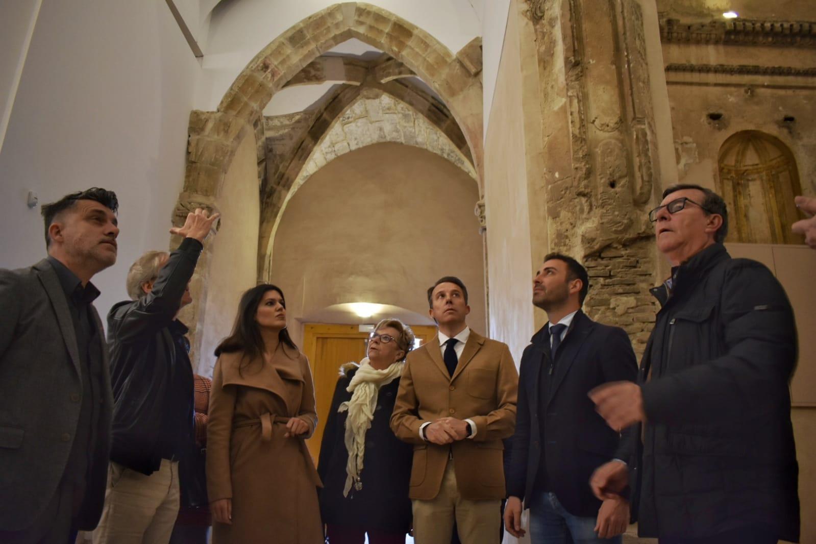 La iglesia de San Pedro recupera su espacio arquitectónico primitivo