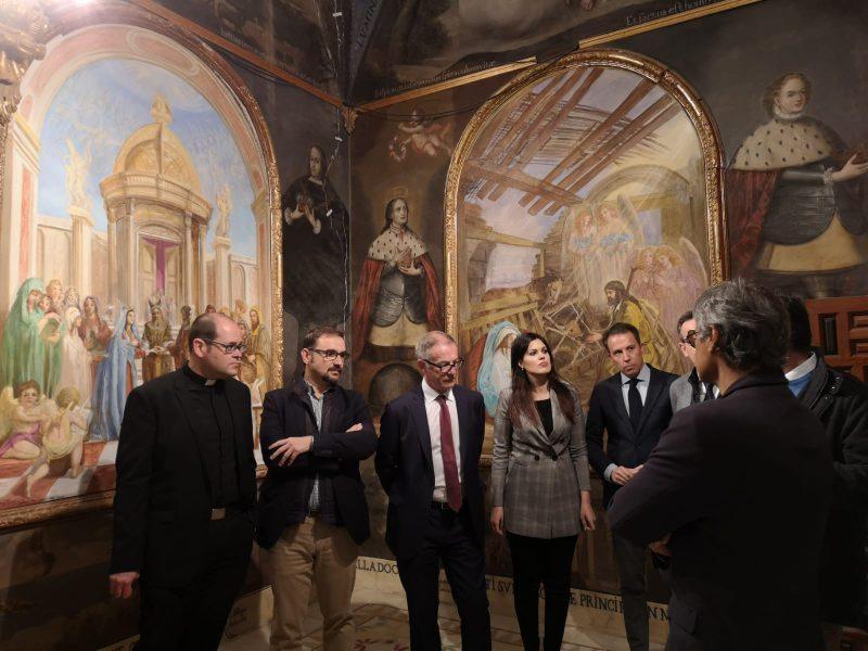 El ministro Cultura y Deportes, José Guirao, visita el Santuario de la Virgen de las Huertas
