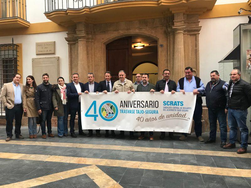 Gil: «Lorca defiende los trasvases, la desalación, el Banco Público del Agua y la interconexión de cuencas»