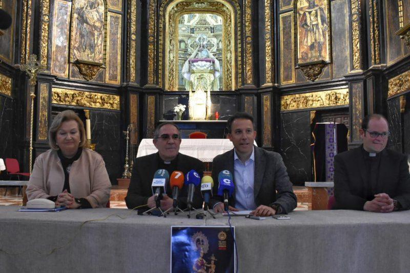 El 17 de marzo comenzarán los actos del Tiempo Jubilar a la Virgen de las Huertas, Patrona de Lorca